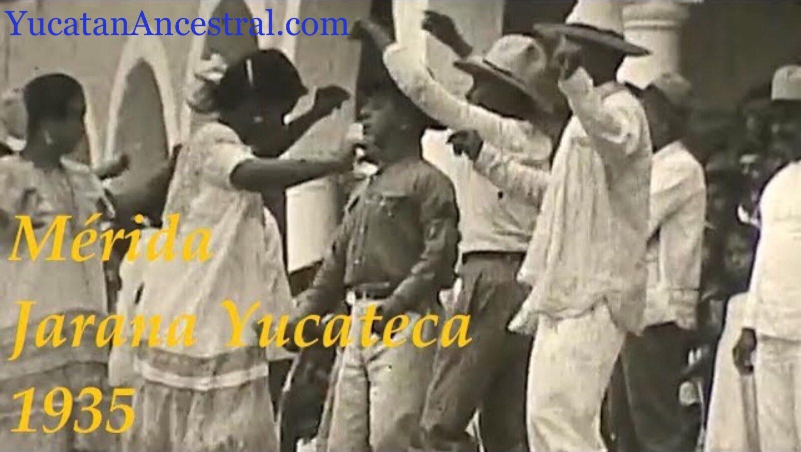 Bailadores de Jarana Yucateca 1935