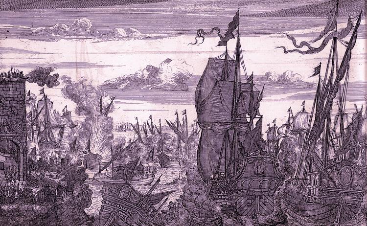 Los piratas en Campeche