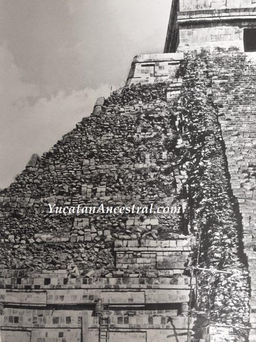 Chichén Itzá fotografías antiguas