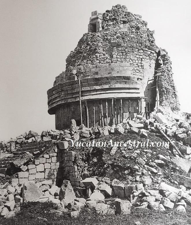 Yucatan Ancestral El Caracol u Observatorio 1928