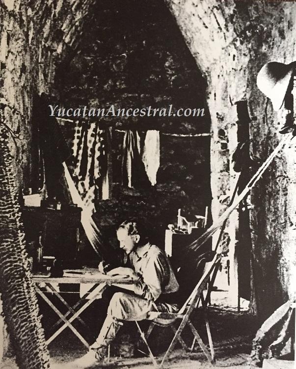 Chichén Itzá Yucatan Ancestral Alfred Maudslay