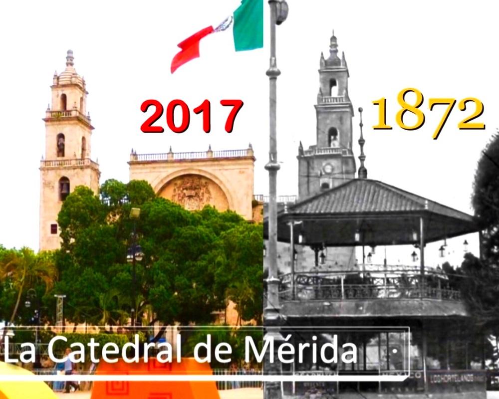 Catedral de Merida 1872 Yucatan Ancestral