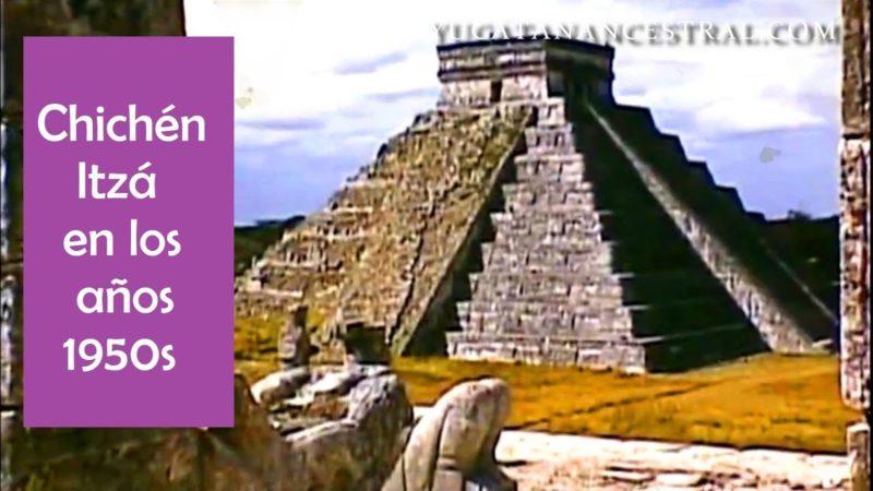 Chichén Itzá en los años 1950s