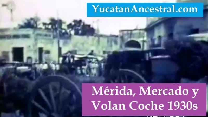 El Volan Coche Yucatán 1930s