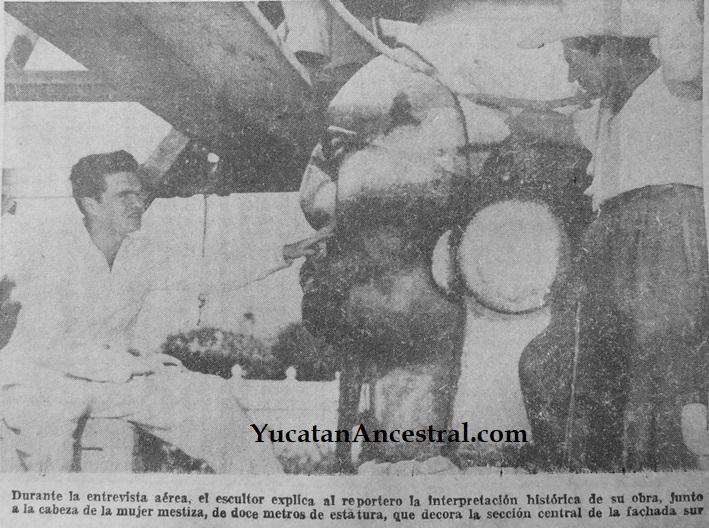Inauguración del Monumento a la Patria - Mérida - 1956