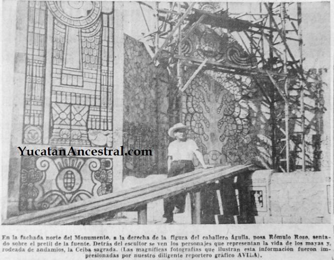 Inauguración del Monumento a la Patria - Mérida - 1956 - Rómulo Rozo