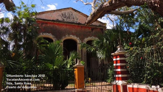 Hacienda Santa Rosa, Maxcanú, Yucatán