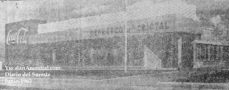 Inauguración de Industria Embotelladora de Campeche Cristal 1963 II