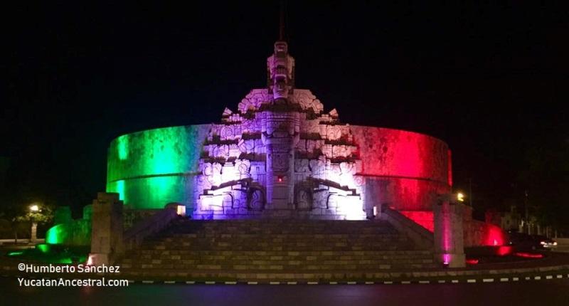 El Monumento a la Patria en el Paseo de Montejo