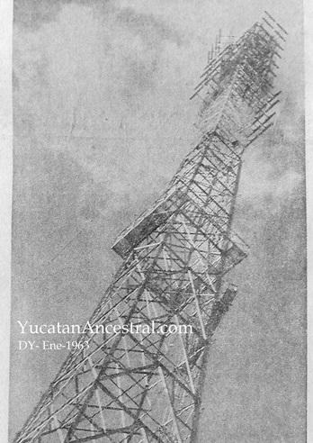 XHY-TV Canal 3 de televisión en Mérida Yucatán inaugurado el 31 de enero de 1963