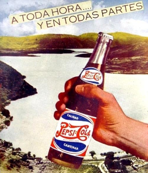 Cía Embotelladora del Sureste, S.A. Pepsi-Cola en Mérida 1961