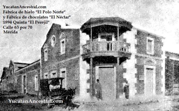 Fábricas de Hielo en Yucatán a fines del Siglo XIX