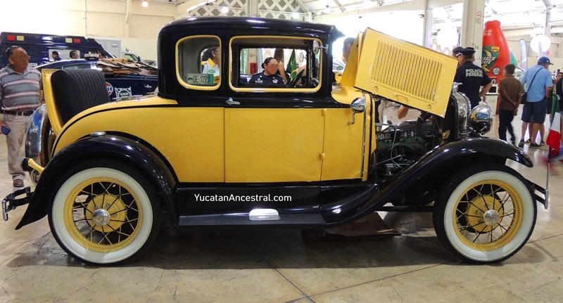 Ford modelo A 1930 en el Rally Maya 2018