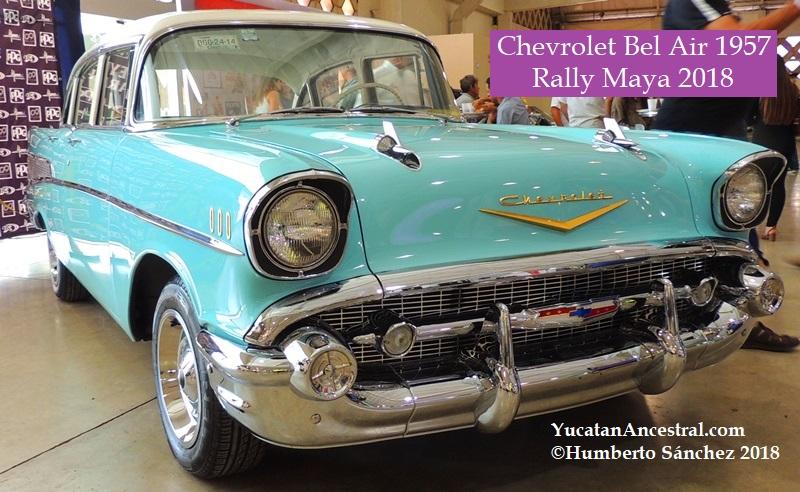 Yucatan Ancestral Chevrolet Bel Air 1957