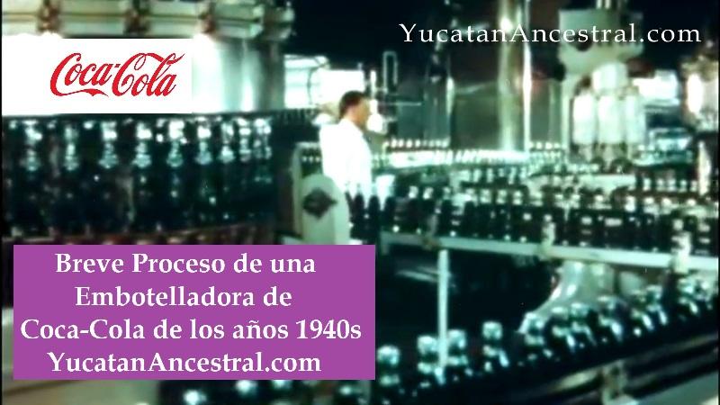 Embotellado de Coca-Cola en los años 1940s