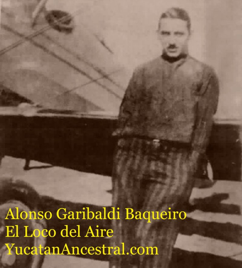 Alonso Garibaldi Baqueiro el Loco del Aire