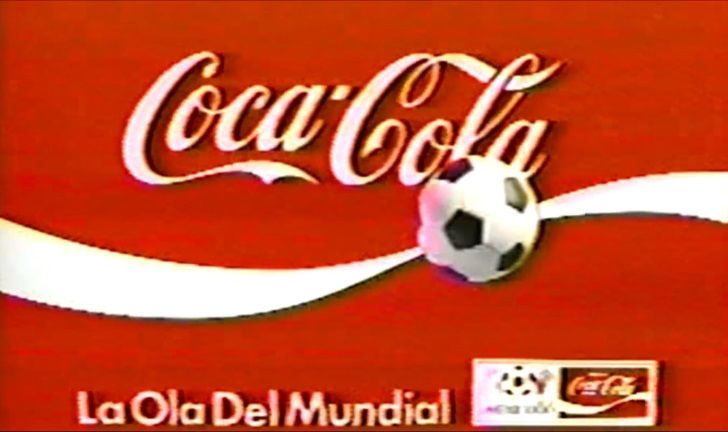 Anuncios de Coca-Cola del Mundial de Fútbol México 1986
