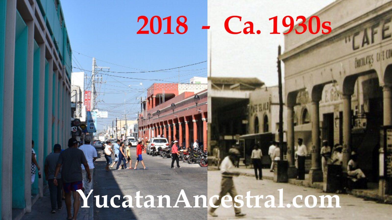 Puerto de Progreso, ayer y hoy