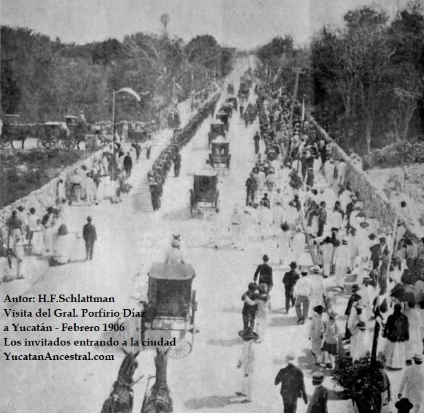 Visita del General Porfirio Díaz a Yucatán en 1906 (1/6)