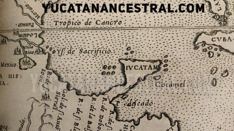 Mapa de la Nova Hispania de 1561