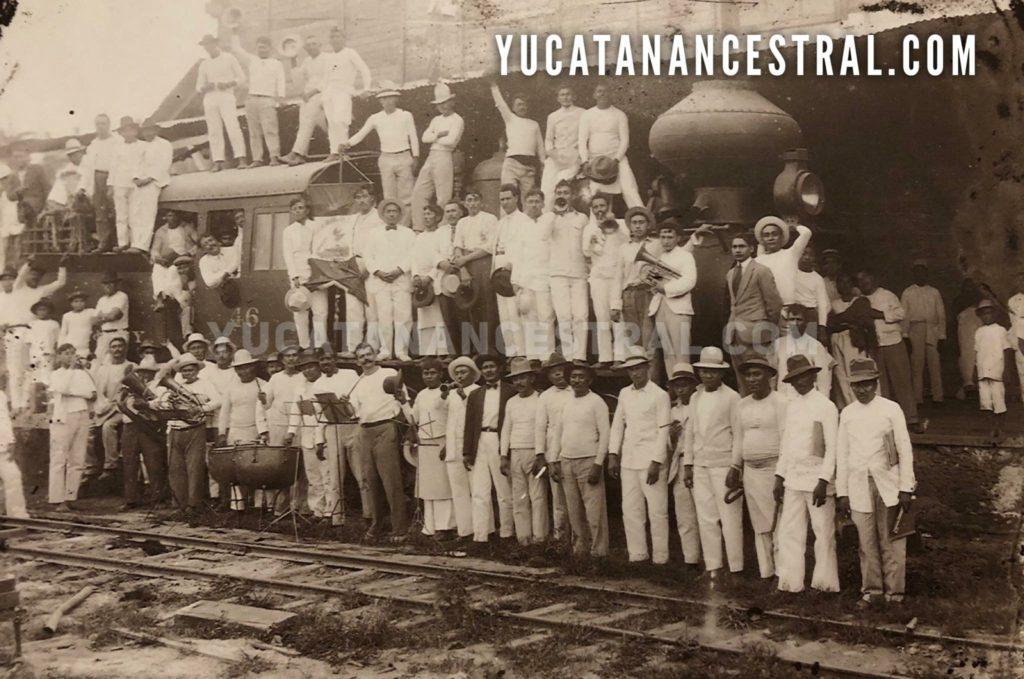 Ferrocarriles y tranvías en Yucatán 1902