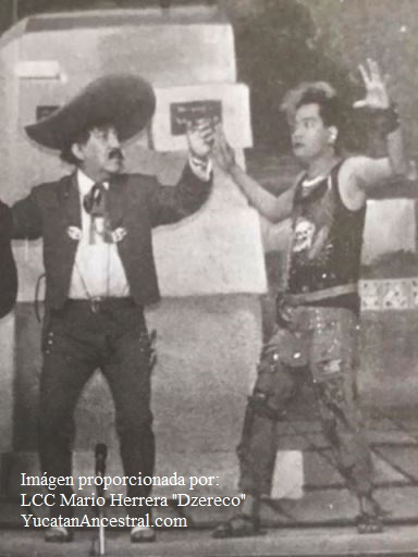 "Don Héctor Herrera ""Cholo"" y Don Rubén Chacón"