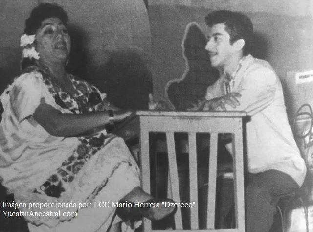 "Doña Ofelia Zapata ""Petrona"" y Don Héctor Herrera ""Cholo"""