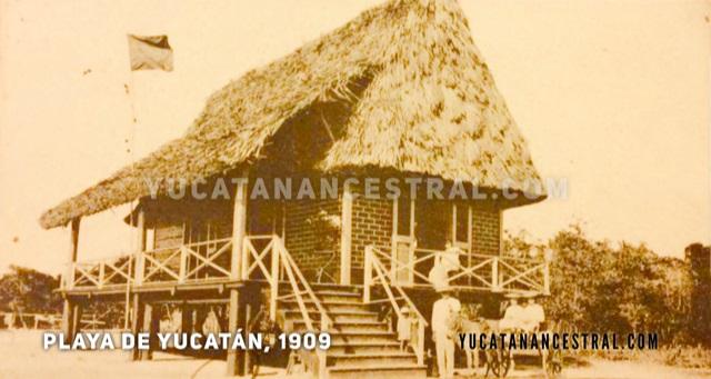 Casa de playa, Yucatán 1909