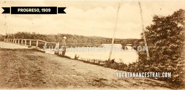 La ciénega de Progreso 1909