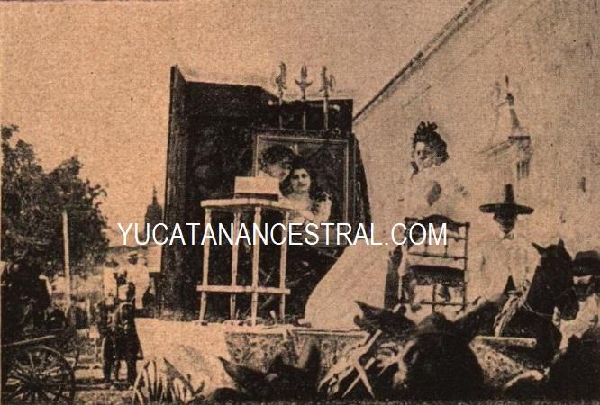 Carro de las Sritas.  Fortunat - Carnaval de Mérida Ancestral