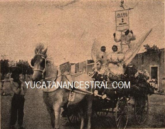 Carro alegórico de la familia Ancona Cámara