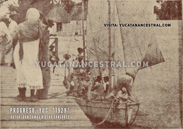 Progreso Yucatán Barco