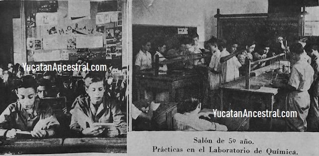 El Colegio Montejo en 1947-1948