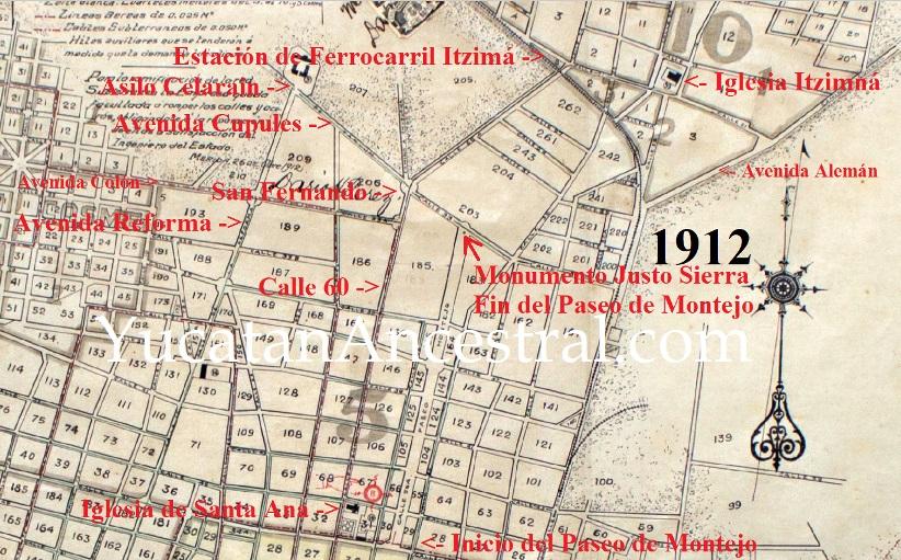 La Colonia Itzimná Moderna 1920