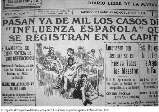 La Influenza Española en Yucatán en 1920