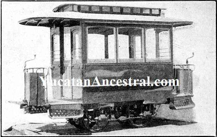 Un pequeño tranvía para Yucatán