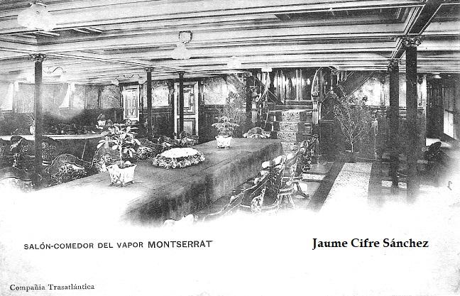 Itinerarios líneas de vapores Progreso 1907
