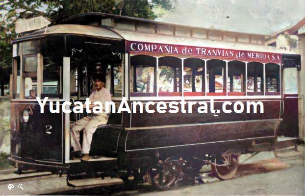 Los tranvías yucatecos usan motores Ford
