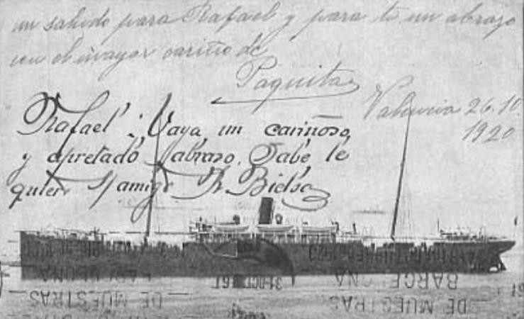 Notas interesantes a los pasajeros de los vapores