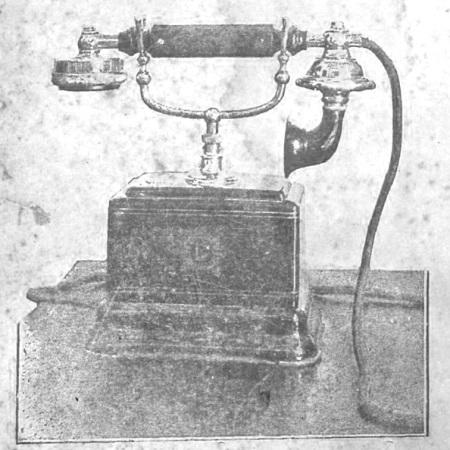 Llamada telefónica en Mérida 1930