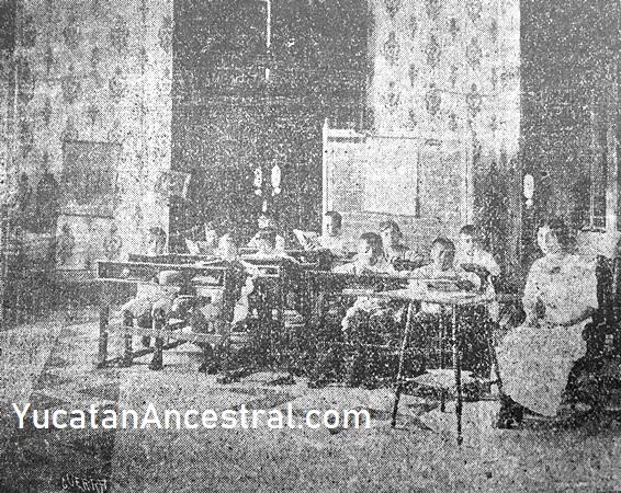 Escuela Primaria Adolfo Cisneros 1913