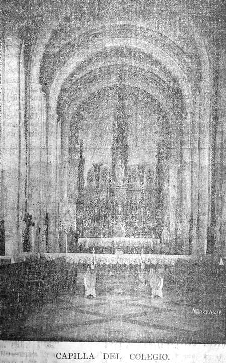 Colegio Católico de San Ildefonso 1913