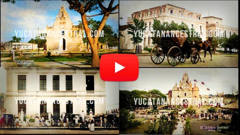 Mérida Yucatán en los 1920s