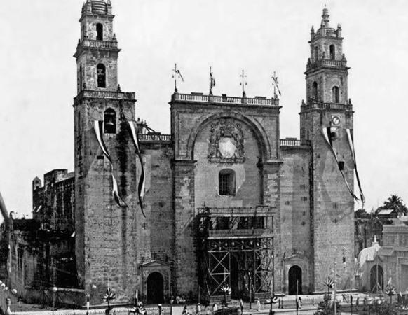 La Catedral de Mérida en 1906