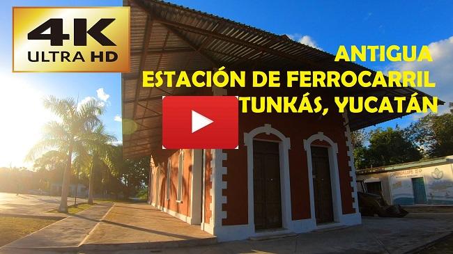 Antiguas Estaciones de Ferrocarril en Yucatán