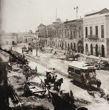 Las calles de Mérida 1872