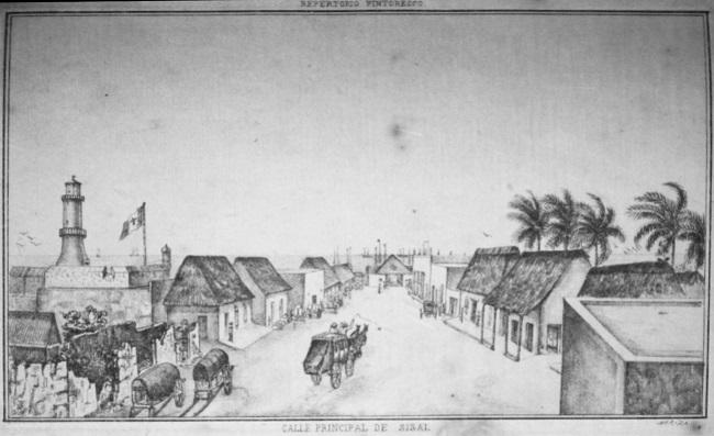 Temporada en Sisal en 1872