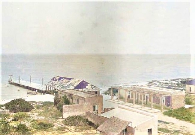 Temporada de baños en Sisal 1872