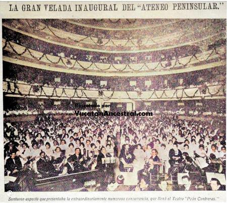 Ateneo Peninsular inauguración 1916